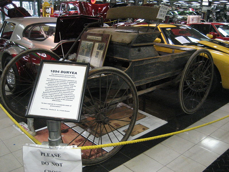 Today in Automotive History ~ First Road Test of a Gasoline-Powered ...